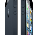 The new iPhone 5 in Black.