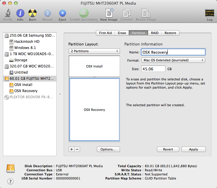 Building a Install and Recovery Drive for Your Hackintosh « Der Soldat